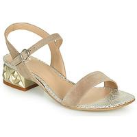 鞋子 女士 凉鞋 Perlato 11817-CAM-FREJE-STONE 米色 / 金色