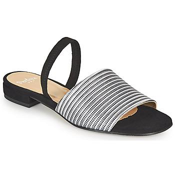 鞋子 女士 凉鞋 Perlato 11117-YORK-ARGENT-CAM-NOIR 黑色 / 银色