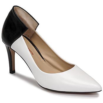 鞋子 女士 高跟鞋 Perlato 11764-VENUS-BLANC-JAMAICA-NOIR 白色 / 黑色