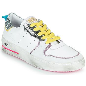 鞋子 女士 球鞋基本款 Semerdjian SONA 白色 / 银灰色