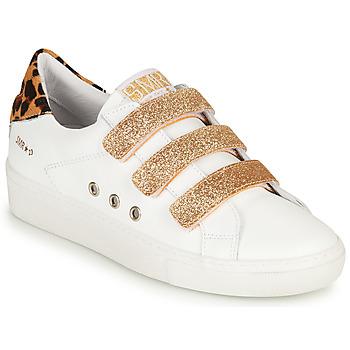 鞋子 女士 球鞋基本款 Semerdjian GARBIS 白色 / 金色