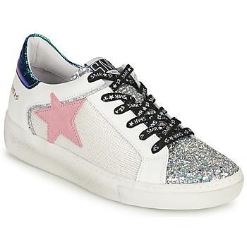 鞋子 女士 球鞋基本款 Semerdjian CARLA 银灰色 / 白色 / 绿色