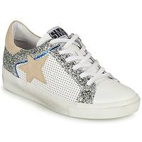 鞋子 女士 球鞋基本款 Semerdjian CARLA 白色 / 银灰色 / 米色