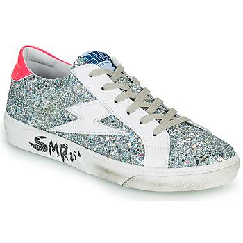 鞋子 女士 球鞋基本款 Semerdjian CATRI 银灰色 / 玫瑰色