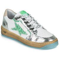鞋子 女士 球鞋基本款 Semerdjian ARTO 白色 / 银灰色 / 绿色