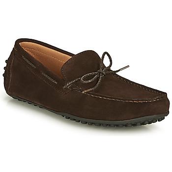 鞋子 男士 皮便鞋 Brett & Sons CHATAINE 棕色