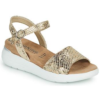 鞋子 女士 凉鞋 Dorking ROCK 金色