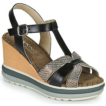 鞋子 女士 凉鞋 Dorking TOTEM 黑色 / 古銅色