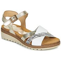 鞋子 女士 凉鞋 Dorking ESPE 白色 / 银灰色