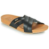 鞋子 女士 拖鞋 Reef CUSHION SPRING BLOOM 黑色