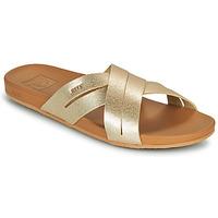 鞋子 女士 拖鞋 Reef CUSHION SPRING BLOOM 金色