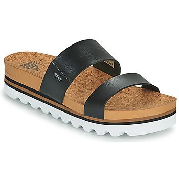 鞋子 女士 拖鞋 Reef CUSHION VISTA HI 黑色