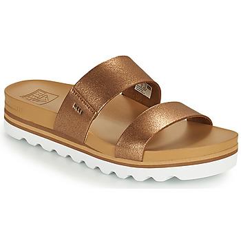 鞋子 女士 拖鞋 Reef CUSHION VISTA HI 棕色
