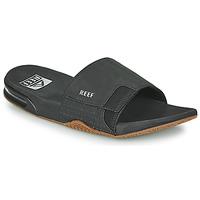 鞋子 男士 拖鞋 Reef FANNING SLIDE 黑色