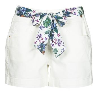 衣服 女士 短裤&百慕大短裤 Freeman T.Porter GINGER MUZEY 雪白色 / 白色