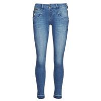 衣服 女士 紧身牛仔裤 Freeman T.Porter ALEXA CROPPED S-SDM 蓝色