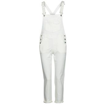 衣服 女士 连体衣/连体裤 Freeman T.Porter TARA MUZEY 雪白色 / 白色
