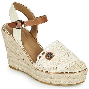鞋子 女士 凉鞋 Tom Tailor 汤姆裁缝 DEB 奶油色