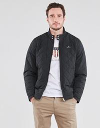衣服 男士 夹克 Gant QUILTED WINDCHEATER 黑色