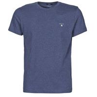 衣服 男士 短袖体恤 Gant THE ORIGINAL T-SHIRT 海蓝色 / Melange