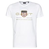 衣服 男士 短袖体恤 Gant ARCHIVE SHIELD 白色