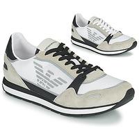 鞋子 男士 球鞋基本款 Emporio Armani EMPAGNO 白色