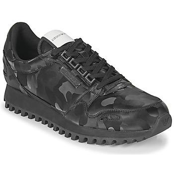 鞋子 男士 球鞋基本款 Emporio Armani AUTRIA 黑色
