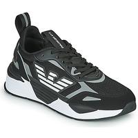 鞋子 男士 球鞋基本款 EA7 EMPORIO ARMANI BLACES 黑色