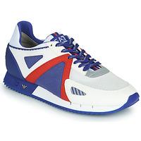 鞋子 男士 球鞋基本款 EA7 EMPORIO ARMANI SAPONI 白色 / 蓝色 / 红色