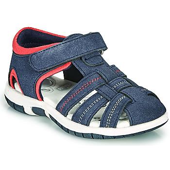 鞋子 男孩 凉鞋 Chicco FAUSTO 海蓝色