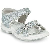 鞋子 女孩 凉鞋 Chicco FABIANA 银灰色