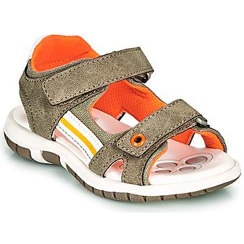 鞋子 男孩 凉鞋 Chicco FLAUTO 卡其色