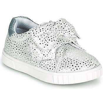 鞋子 女孩 球鞋基本款 Chicco COLOMBA 银灰色