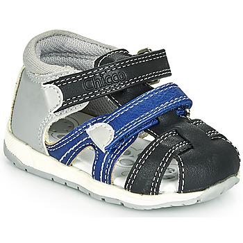 鞋子 男孩 凉鞋 Chicco GABRIEL 蓝色 / 灰色