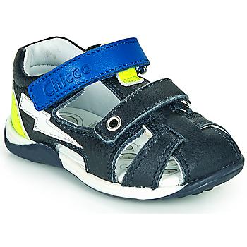 鞋子 男孩 凉鞋 Chicco GALILEO 海蓝色