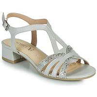 鞋子 女士 凉鞋 Caprice 28201-233 米色