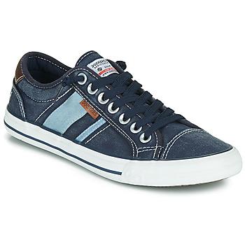 鞋子 男士 球鞋基本款 Dockers by Gerli 42JZ004-670 蓝色