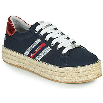 鞋子 女士 球鞋基本款 Dockers by Gerli 46GV202-660 蓝色