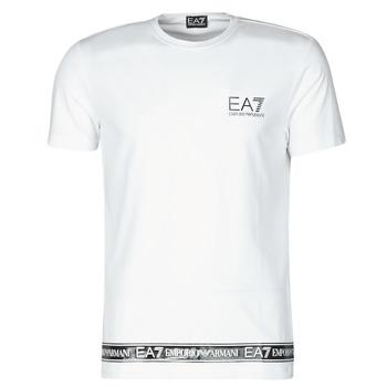 衣服 男士 短袖体恤 EA7 EMPORIO ARMANI 3KPT05-PJ03Z-1100 白色