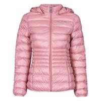 衣服 女士 羽绒服 EA7 EMPORIO ARMANI 8NTB23-TN12Z-1436 玫瑰色