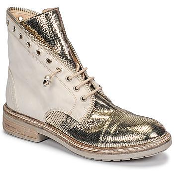 鞋子 女士 短筒靴 Fru.it 6846-480-PLATINO 金色