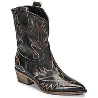 鞋子 女士 短靴 Fru.it 6797-372-NERO 黑色 / 棕色