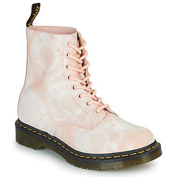 鞋子 女士 短筒靴 Dr Martens 1460 PASCAL 米色