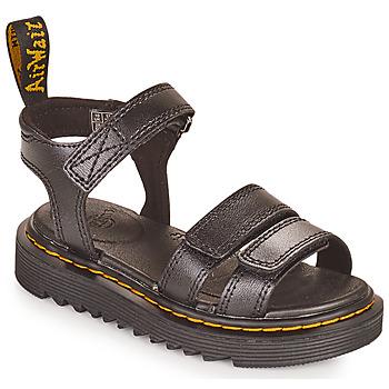 鞋子 女孩 凉鞋 Dr Martens KLAIRE J 黑色