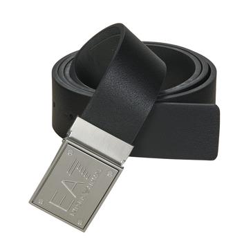 纺织配件 腰带 EA7 EMPORIO ARMANI TRAIN CORE ID U BELT 黑色 / Reversible / 灰色