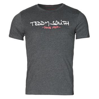 衣服 男士 短袖体恤 Teddy Smith 泰迪 史密斯 TICLASS 灰色 / Fonce