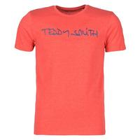 衣服 男士 短袖体恤 Teddy Smith 泰迪 史密斯 TICLASS 红色