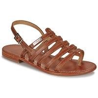鞋子 女士 凉鞋 Les Tropéziennes par M Belarbi HERISSON 茶色