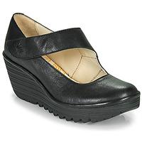 鞋子 女士 高跟鞋 Fly London YASI 黑色