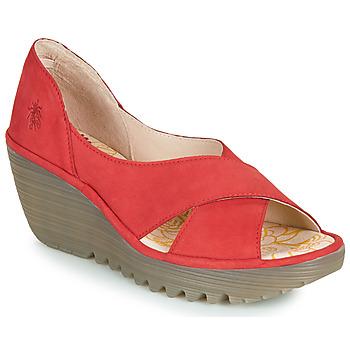 鞋子 女士 凉鞋 Fly London YOMA 红色